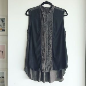 All Saints Spital Fields Blouse in Japanese Cloth